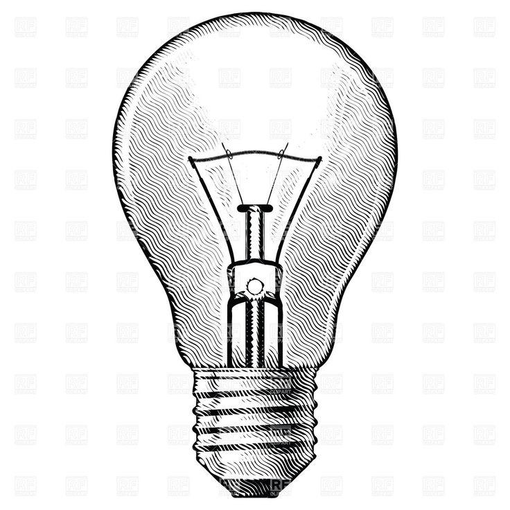 Drawn bulb About bulb images bulb vintage