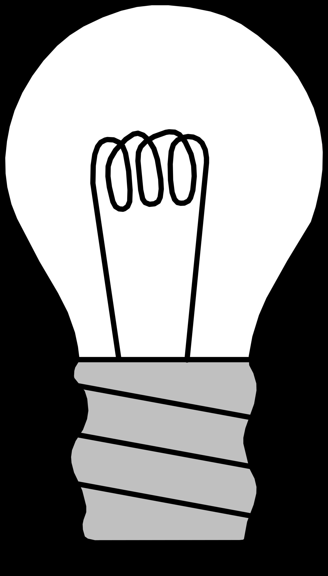 Bulb clipart turn off the light Printable #6 page: Printable bulb