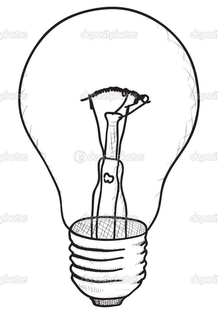 Drawn lamp Sketch drawing Drawing bulb best