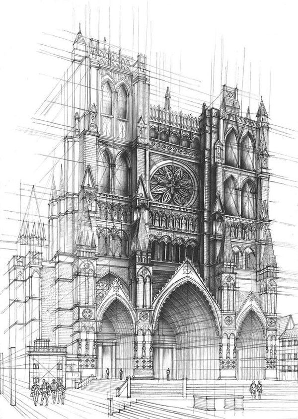 Drawn scenic old Pinterest drawing on Architecture/Building Find