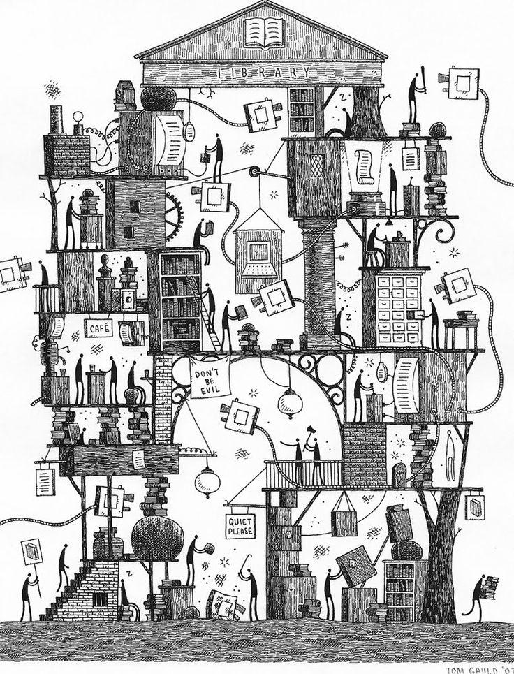 Drawn bulding  cartoon Favorite might Gauld · illustrator