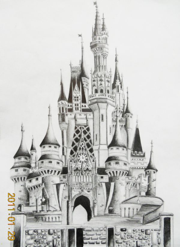 Drawn scenic old Images on deviantART Disneyland 384