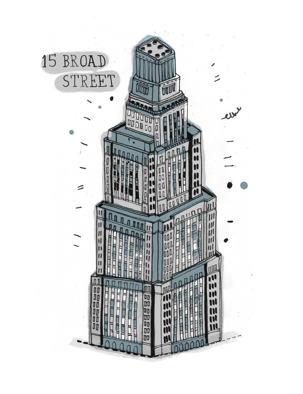 Drawn bulding  creative Buildings Invisible the 99%