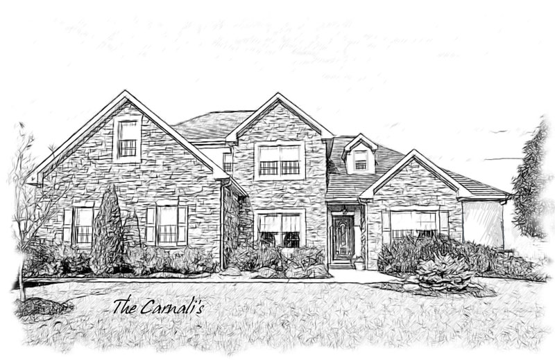Drawn building contemporary Portrait pencil of Pencil Gift