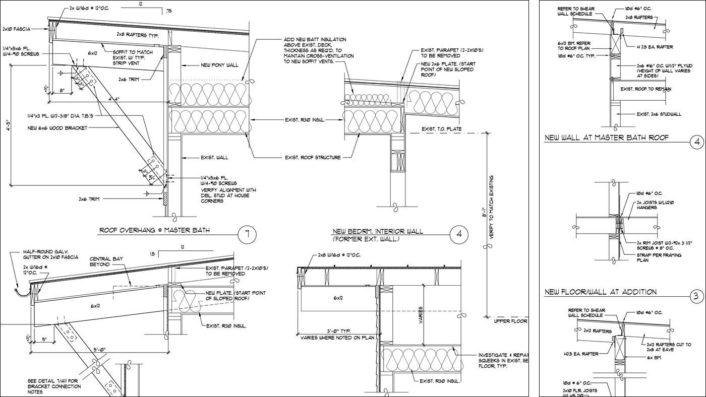 Drawn building school Architectural Architectural CAD Engineering