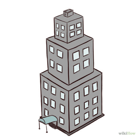 Drawn skyscraper Buildings: (with Uploaded Pictures) 5