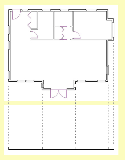Drawn building elevation drawing To Baseline Drawing Draw How