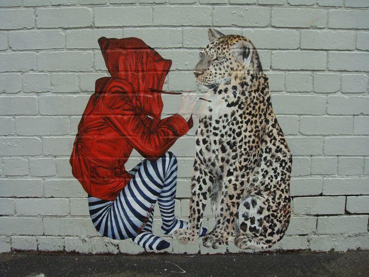 Drawn bulding  graffiti Wall on best Exterior Wall