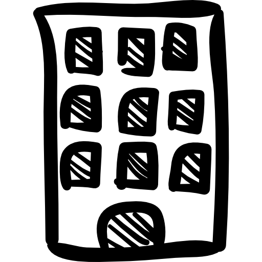 Drawn bulding  hand drawn Buildings icons Building Free tower