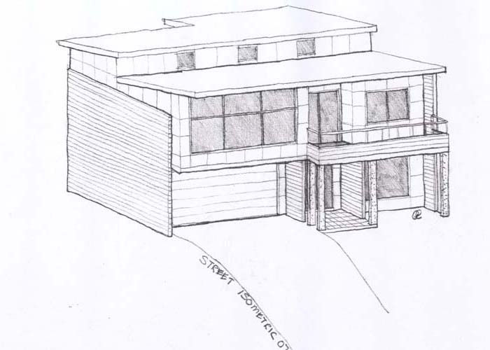 Drawn building isometric Ideas Isometric house drawing plans