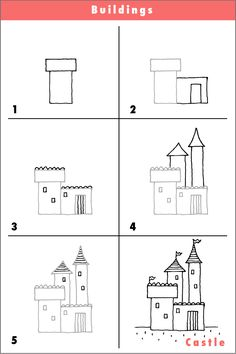 Drawn hosue beginner And drawing…try step it! House