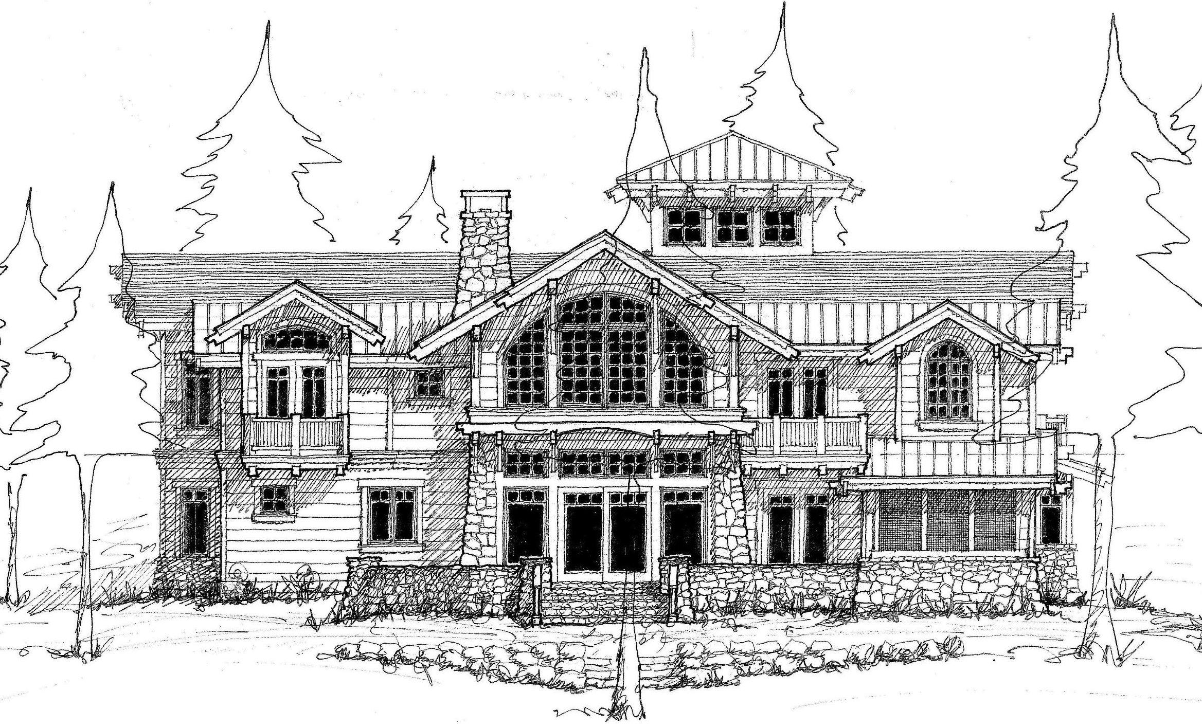 Drawn lake lake house #12