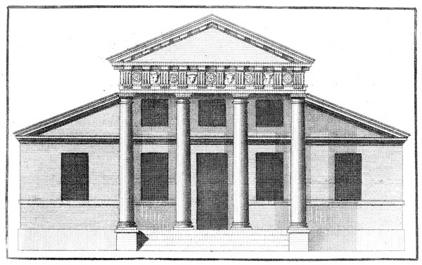 Drawn bulding  neoclassical architecture Architecture Wikipedia  Palladian