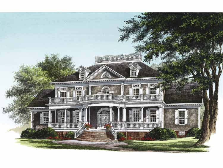 Drawn bulding  neoclassical architecture Neoclassical Home Plans at Plans