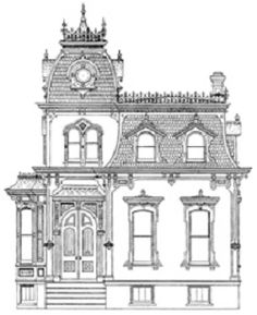 Drawn building old victorian house Building DIY Victorian Victorian show