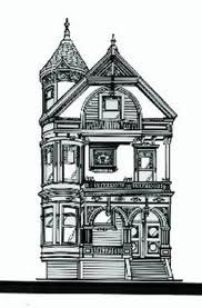 Drawn building old victorian house  Smashing drawings Google Search