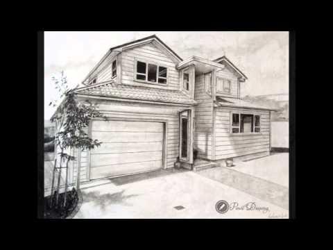 Drawn bulding  pencil art 36 nice YouTube Building nice