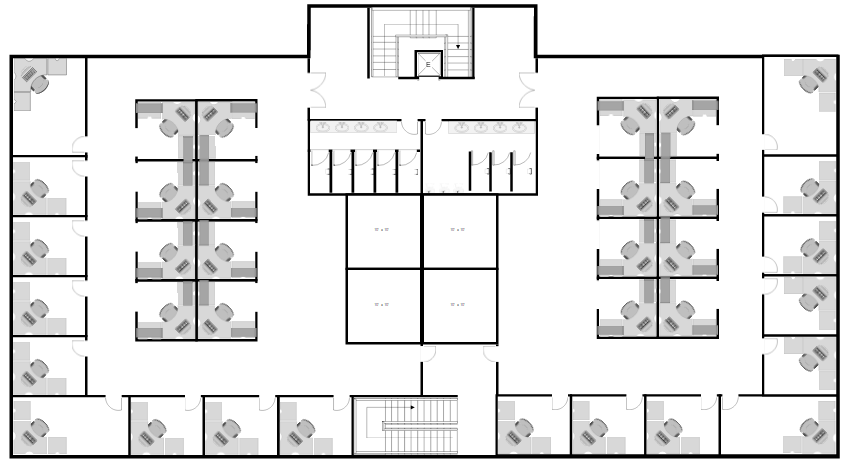 Drawn bulding  plan Plan Easy Software Site Building