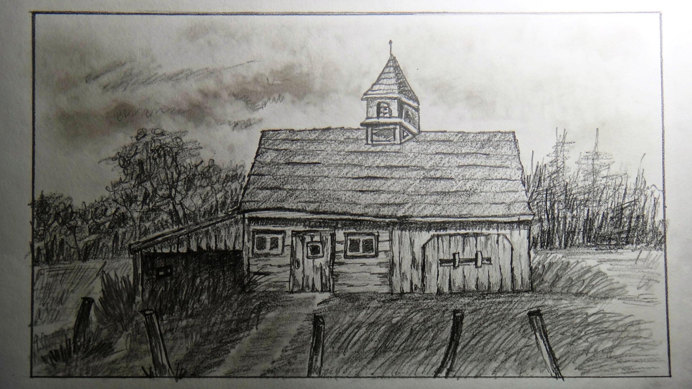 Drawn hosue farm house An YouTube (old farm old