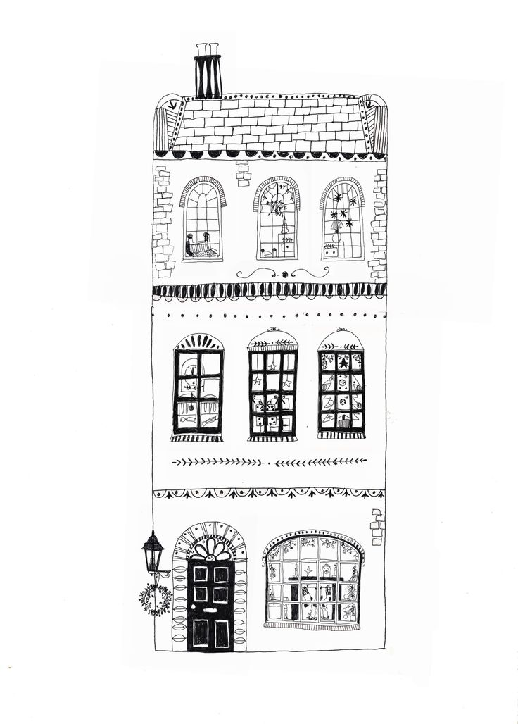 Drawn hosue building Drawing Katt Frank 25+ Best