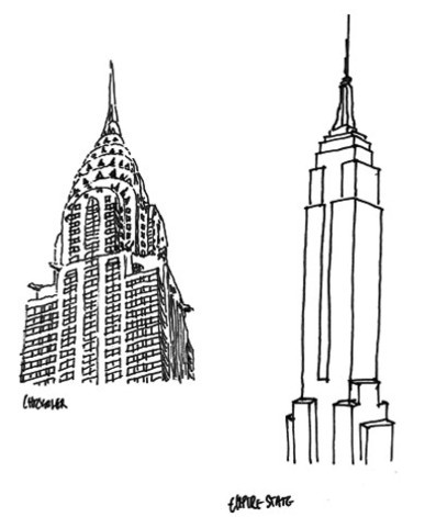 Drawn skyscraper ACROSS Pinterest __ ARCHITECTURE TYPE