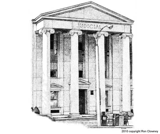 Drawn building supreme court building In GA Drawing Architectural Atlanta