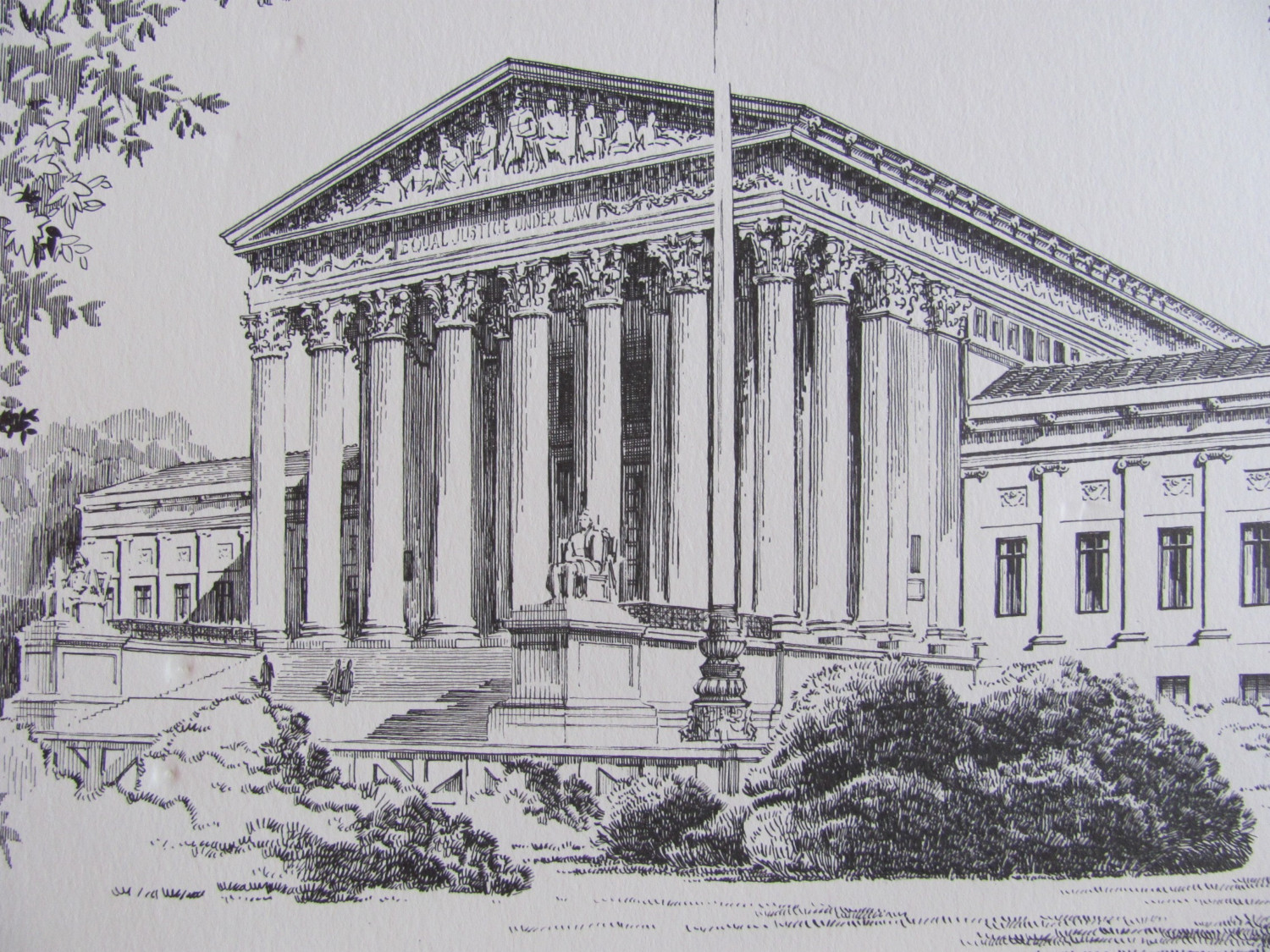 Drawn building supreme court building DON Supreme CANNAVARO  of