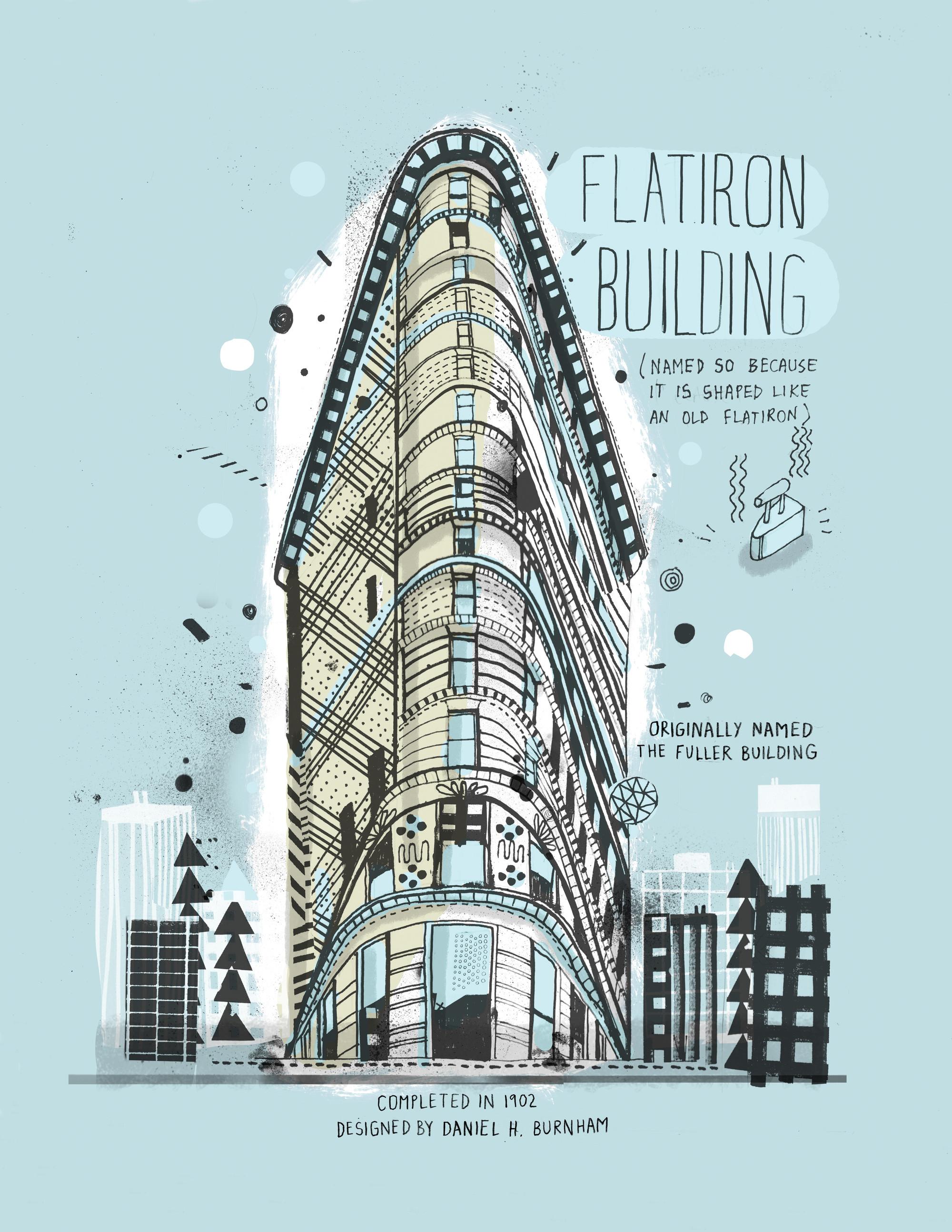 Drawn scenic architecture city Courtesy New Hand in York
