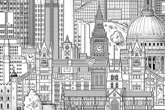 Drawn bulding  tall building Buildings Lofty One jpeg In