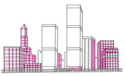 Drawn bulding  tall building Draw How to to Landscapes