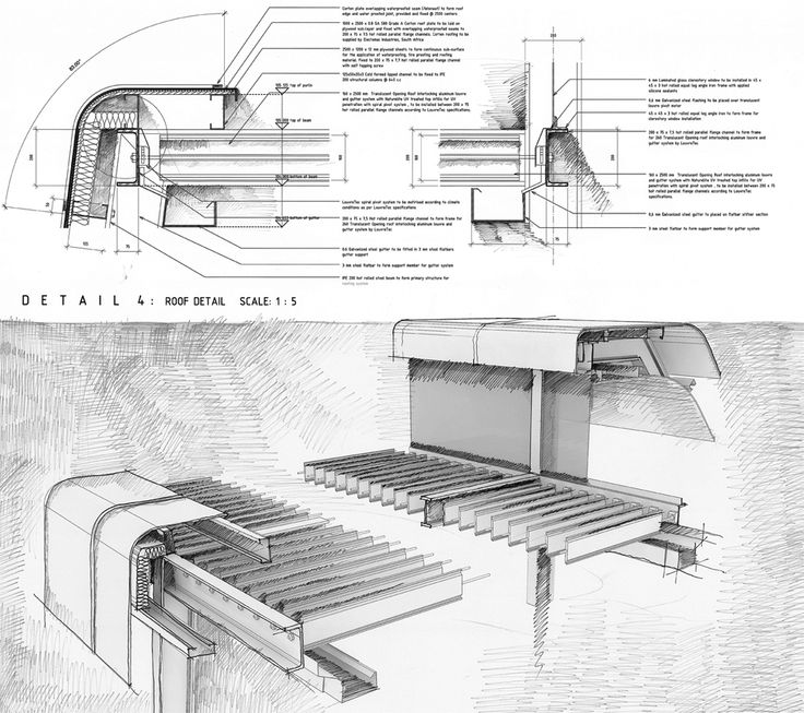 Drawn bulding  technical drawing Alive gouws Pinterest cliff Best