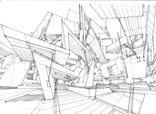 Drawn bulding  technical drawing On Stefan Pinterest Davidovici 67