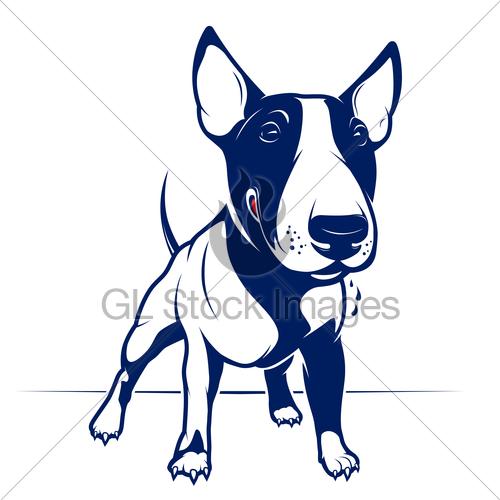 Drawn bull terrier cartoon GL Bull Images · Terrier