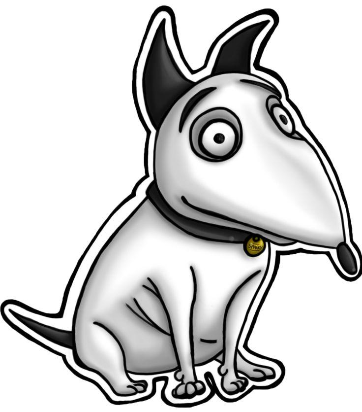 Drawn bull terrier terrier dog On 22 #Sparky best #Dogs