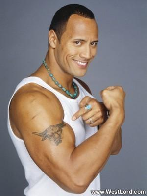 Drawn bull wwe the rock Power I almighty The