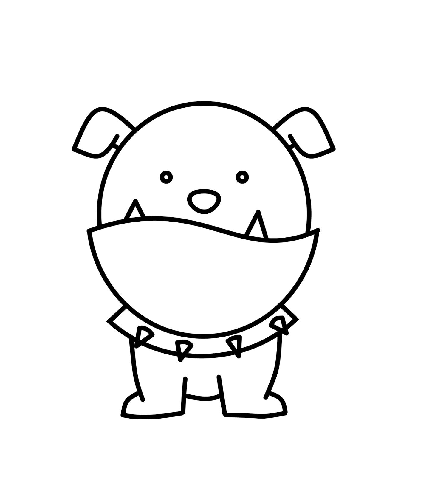 Drawn bulldog I one I've Bulldog for