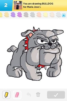 Drawn bulldog animated Cliparts Drawings 14  Can