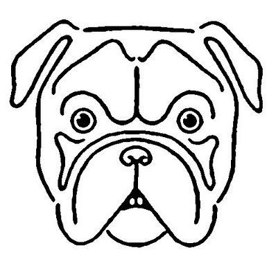 Drawn bulldog bulldog head Vintage Bulldog on Bulldog best