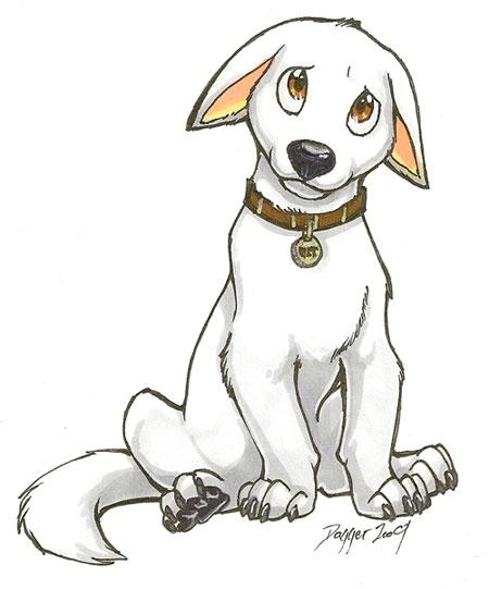 Drawn bulldog disney Bolt how and the more!