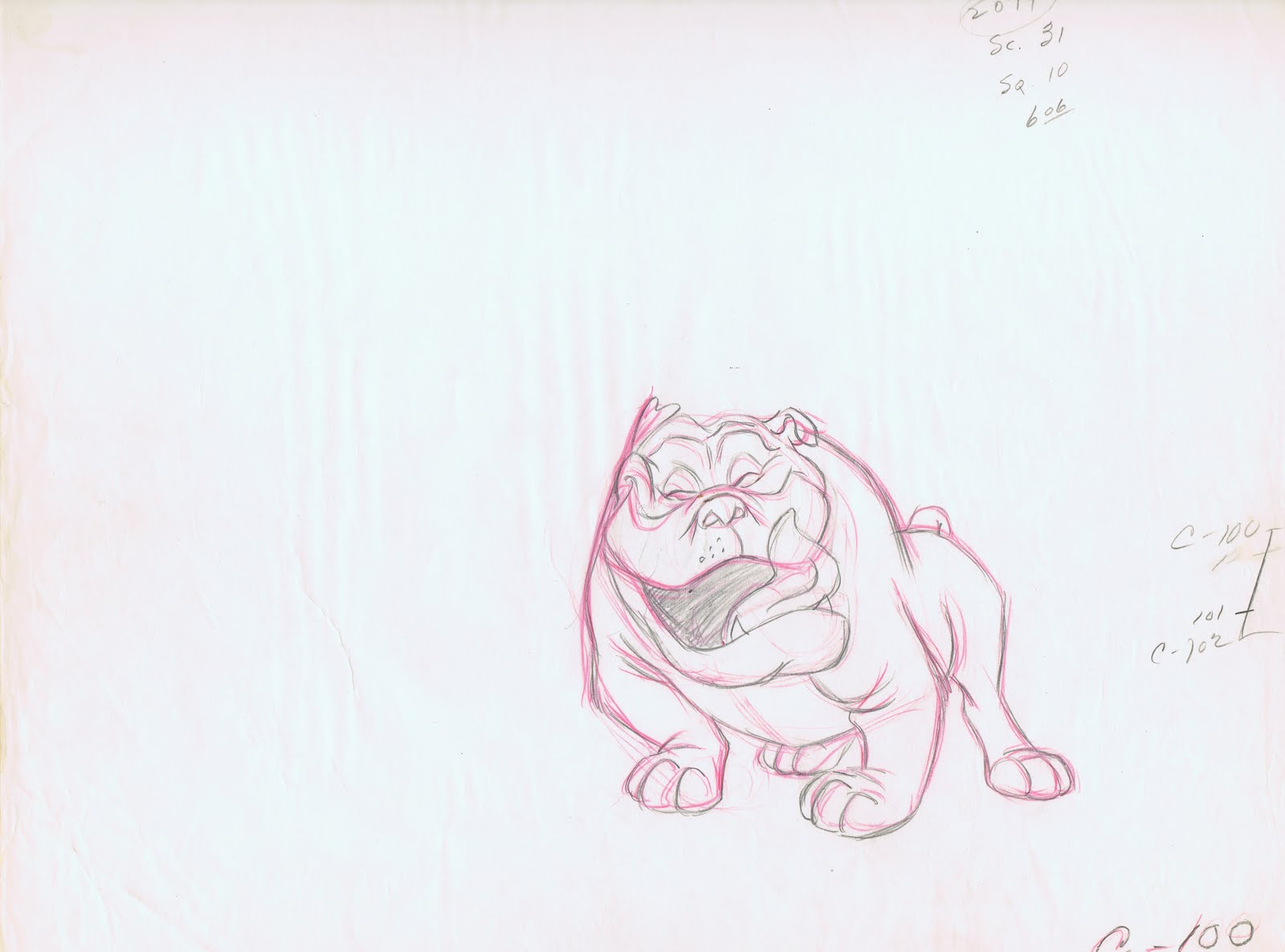 Drawn bulldog disney Me the but Bull of