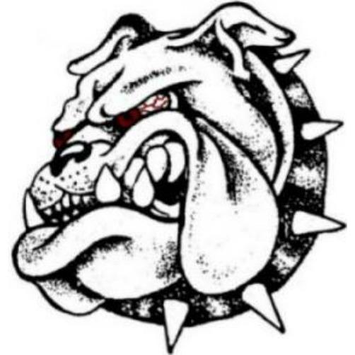 Drawn bulldog mad dog  Transmissions Union Mad Dog