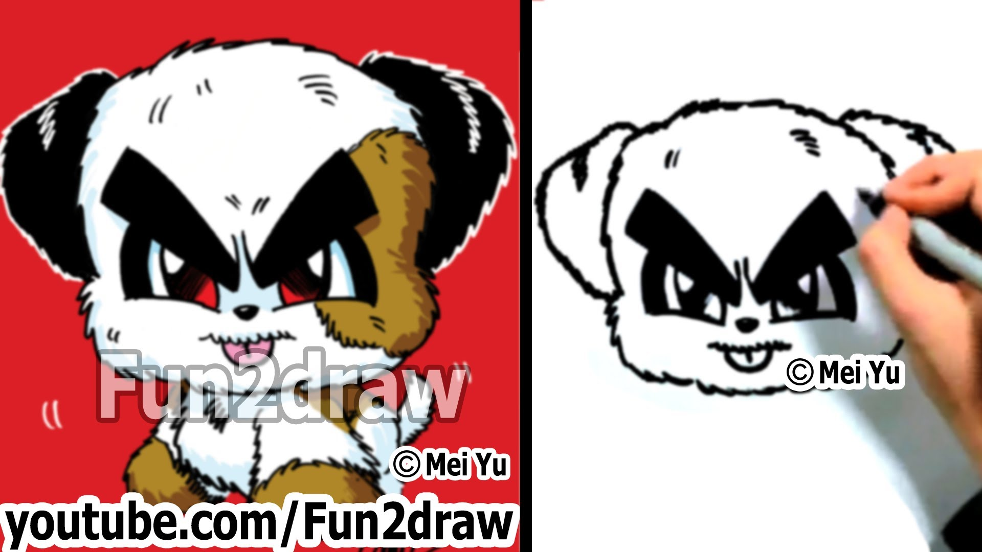 Drawn bulldog mad dog A Cartoon Funny a