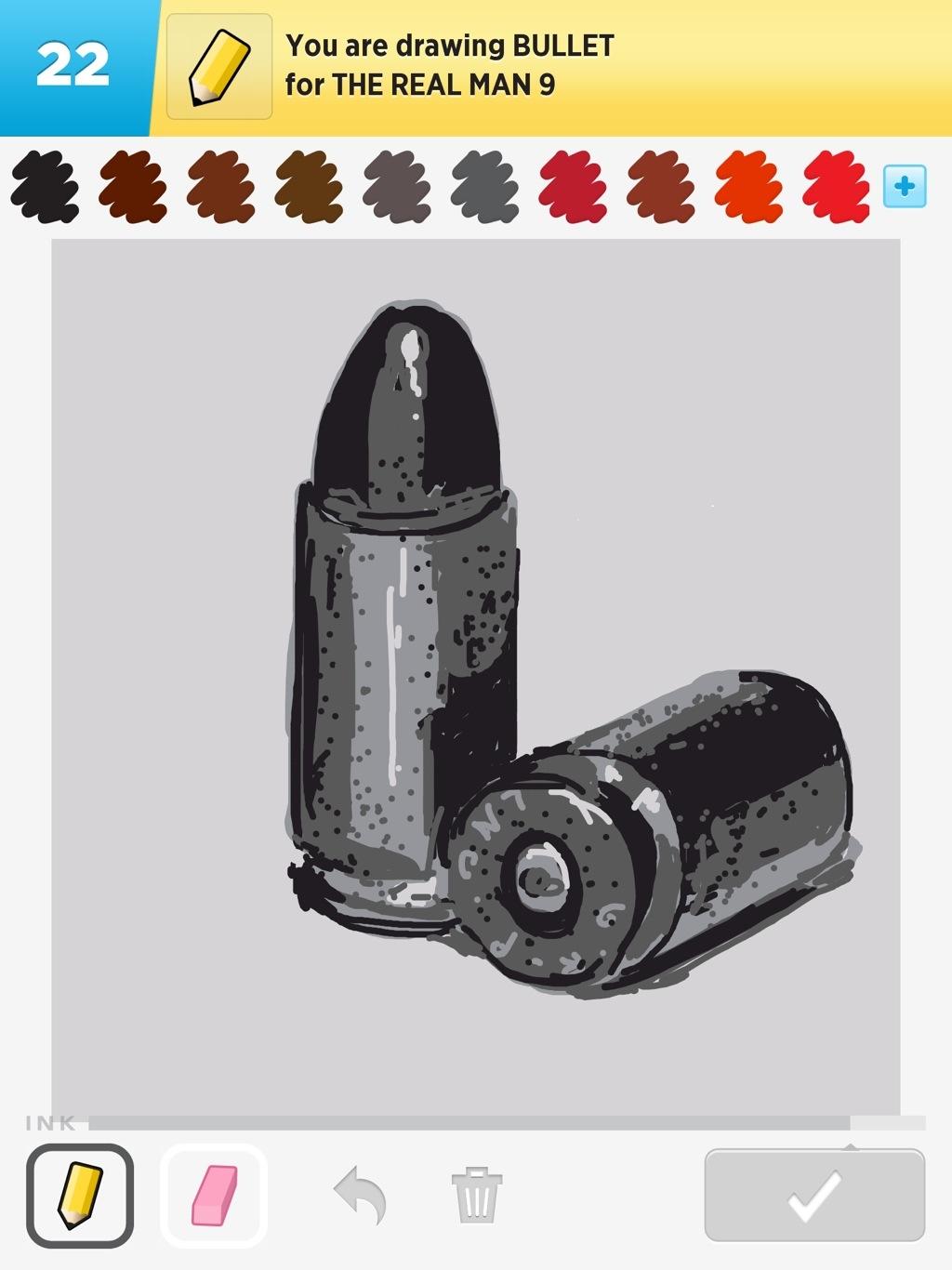 Drawn bullet Bullet Some Things I've Drawn
