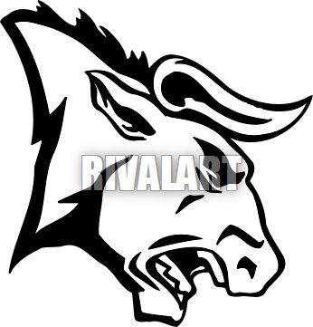 Drawn bull easy 9 Pinterest wolf profile images