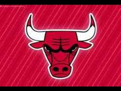 Drawn bulls Logo Chicago To YouTube Draw: