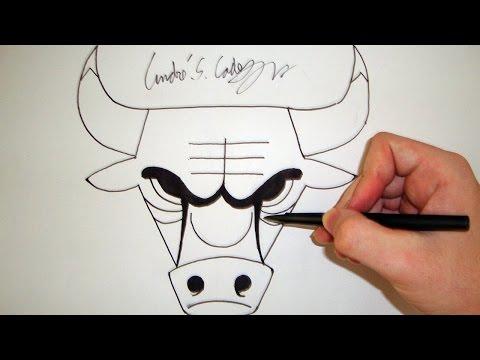 Drawn bull nba Logo a Como Como (How