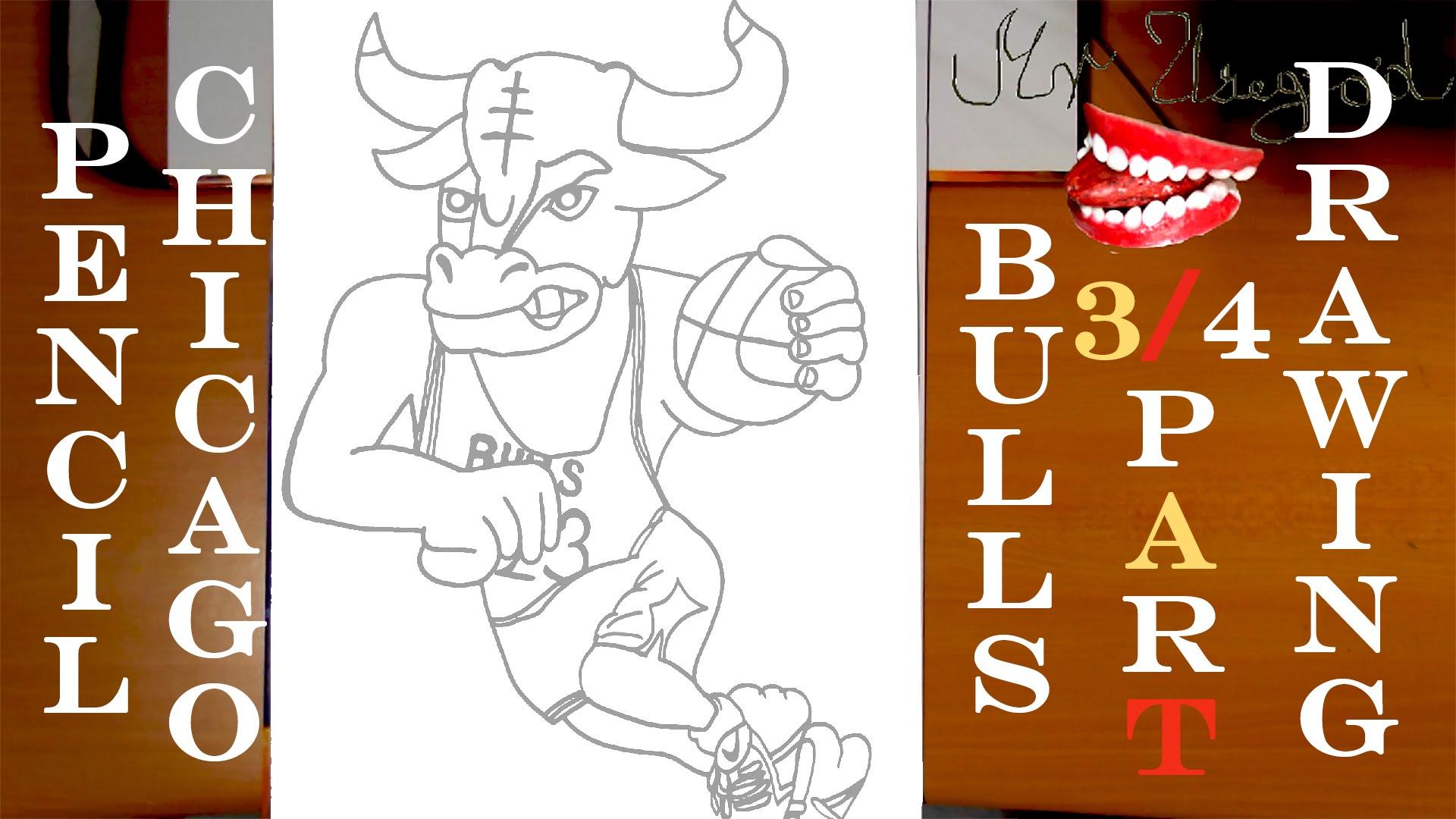 Drawn bull nba TUTORIAL Bulls by Draw How
