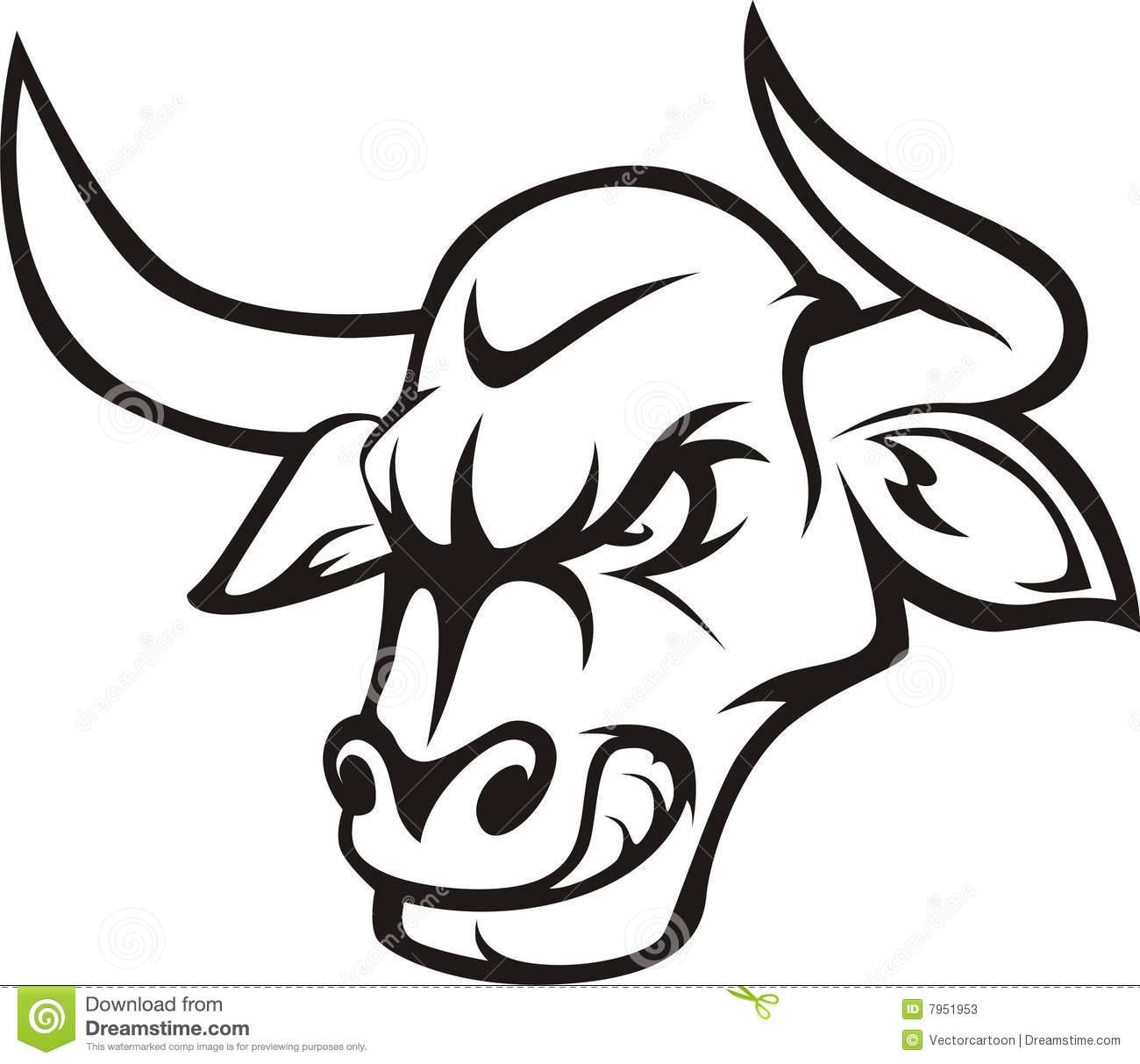 Bull clipart raging bull Raging Stock Communications 7951953 Image: