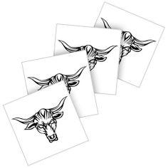 Drawn bulls rock Bull Tattoos Tattoos Rock Tattoo