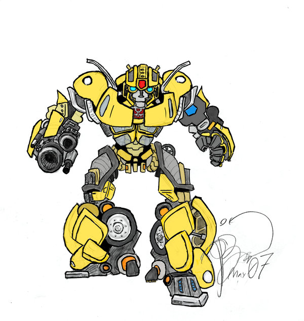 Drawn bumblebee head On Skeleton DeviantArt Transformers: Skeleton